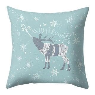 Merry Christmas Throw Pillow Case Elk pattern 21297552-348