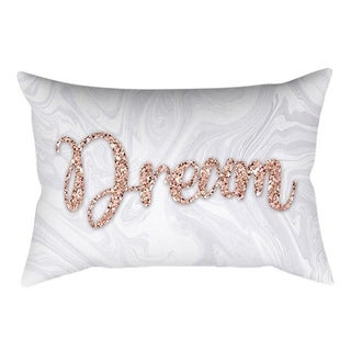 Rose Gold Pink Cushion Cover Square Pillowcase 21297789-377