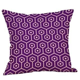 Purple Geometric Fall Autumn Cushion Cover 45x45cm 18220792-118