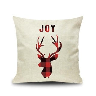 Merry Christmas Printed Throw Pillow Case 45x45cm 20991024-182
