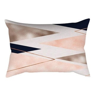 Rose Gold Pink Cushion Cover Square Pillowcase 21297789-372