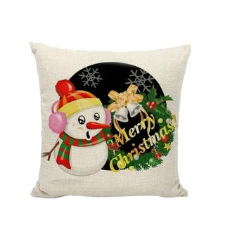 Merry Christmas Winter Cushion Cover Decorative 21296561-227
