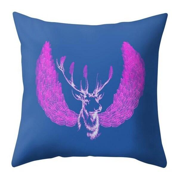 Merry Christmas Throw Pillow Case Elk pattern 21297552-342