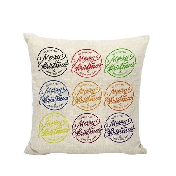 Merry Christmas Winter Cushion Cover Decorative 21296561-236