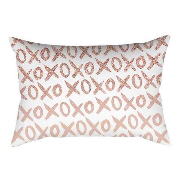 Rose Gold Pink Cushion Cover Square Pillowcase 21297789-380
