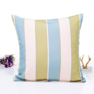 Flax Pillow Sofa Waist Throw Cushion Cover Home Décor 21296330-218