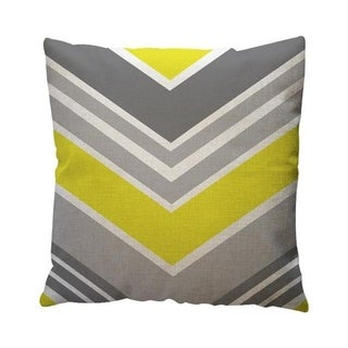 Yellow Geometric Pattern Throw Pillow Case Cushion Cover 19280645-130
