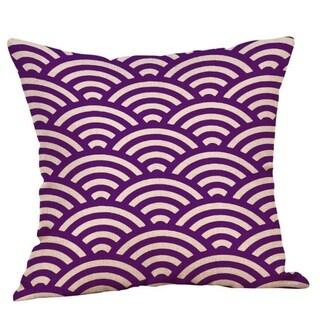 Purple Geometric Fall Autumn Cushion Cover 45x45cm 18220792-122