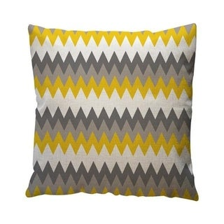 Yellow Geometric Pattern Throw Pillow Case Cushion Cover 19280645-132