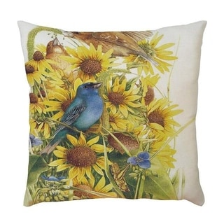Sunflower Printed Throw Pillow Case Pillows Cover 21297830-384