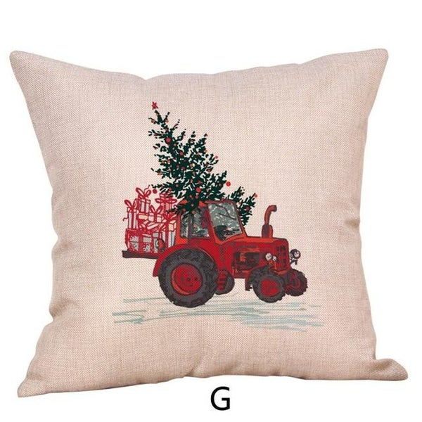 Merry Christmas Throw Pillow Case Vehicle Pillows Cover 19447158-140