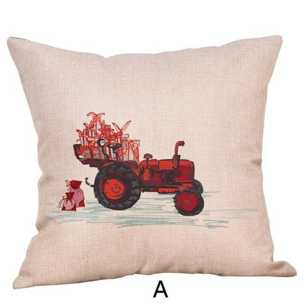 Merry Christmas Throw Pillow Case Vehicle Pillows Cover 19447158-134