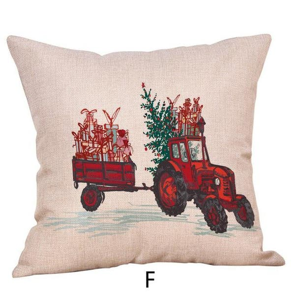 Merry Christmas Throw Pillow Case Vehicle Pillows Cover 19447158-139