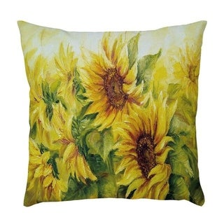Sunflower Printed Throw Pillow Case Pillows Cover 21297830-381