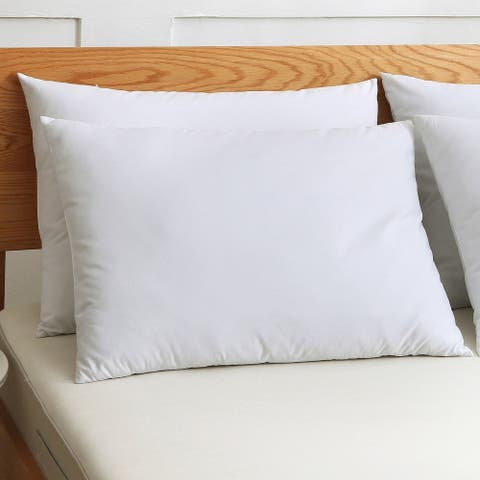 St. James Home Cotton Silver Goose Nano Feather Pillows (Set of 2) - White