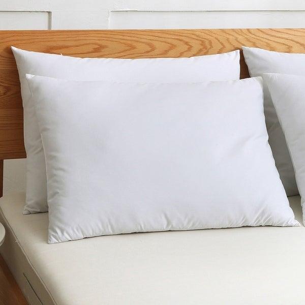 St. James Home Cotton Silver Goose Nano Feather Pillows (Set of 2) - White