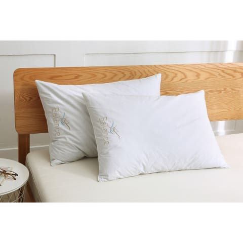 St. James Home Balance, Nano Surround with Pebbled Foam Core Pillow - White