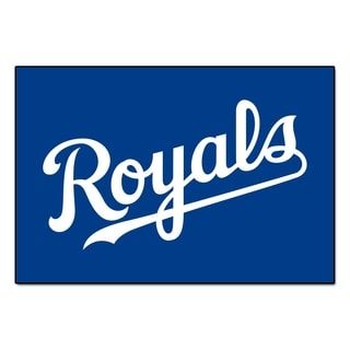 "FANMATS MLB - Kansas City Royals 19 in. x 30 in. Starter Mat Area Rug - 1'7"" x 2'6"""