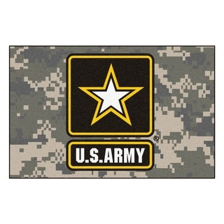 "FANMATS U.S. Army 19 in. x 30 in. Starter Mat Area Rug - 1'7"" x 2'6"""