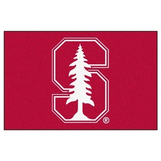 FANMATS Stanford University 19 in. x 30 in. Starter Mat Area Rug