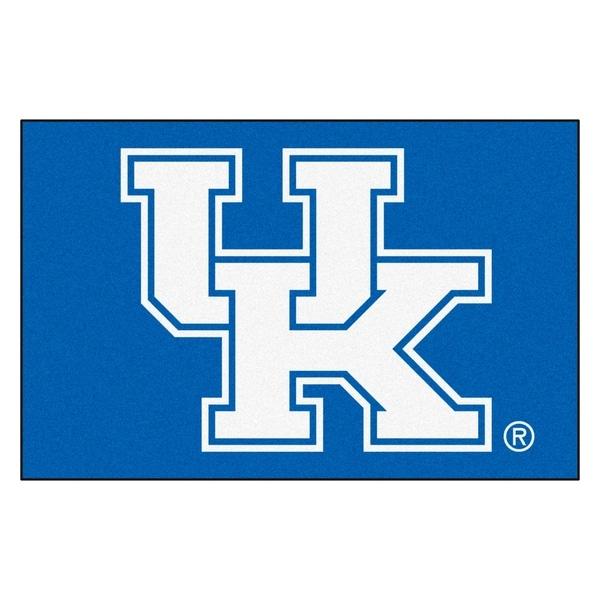 "FANMATS University of Kentucky 19 in. x 30 in. Starter Mat Area Rug - 1'7"" x 2'6"""