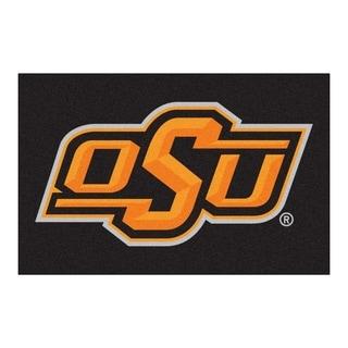"FANMATS Oklahoma State University 19""x 30""Starter Mat Area Rug - 1'7"" x 2'6"""