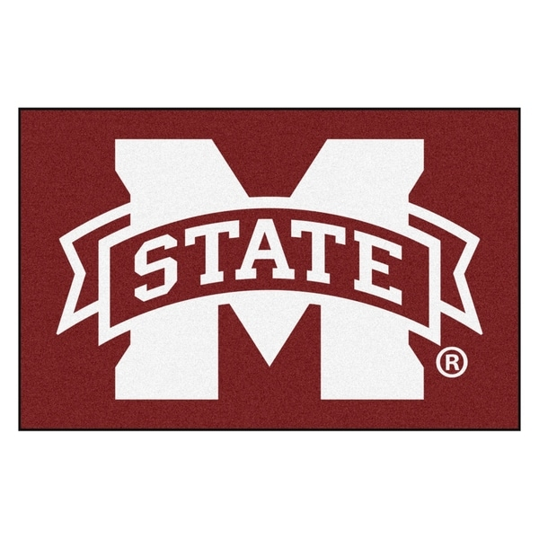 "FANMATS Mississippi State University 19"" x 30"". Starter Mat Area Rug - 1'7"" x 2'6"""