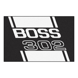 "FANMATS Ford - Boss 302 19 in. x 30 in. Starter Mat Area Rug - 1'7"" x 2'6"""