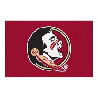 "FANMATS Florida State University 19 in. x 30 in. Starter Mat Area Rug - 1'7"" x 2'6"""