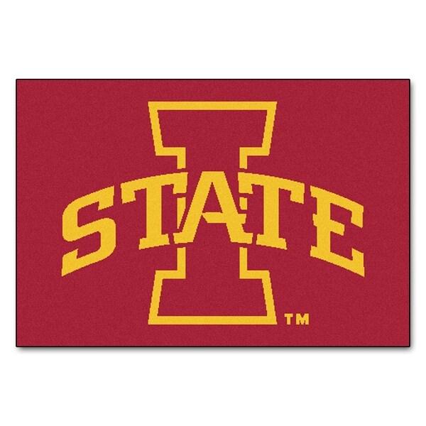 FANMATS Iowa State University 19 in. x 30 in. Starter Mat Area Rug