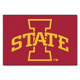 "FANMATS Iowa State University 19 in. x 30 in. Starter Mat Area Rug - 1'7"" x 2'6"""