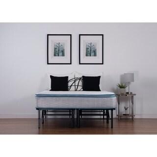 NuForm California King-size Quilted Plush Pillow Top Mattress Set