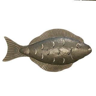 Handmade Galvanized Metal Flounder (Philippines)