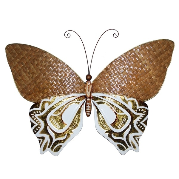Handmade Weave and Gold Butterfly (Philippines)