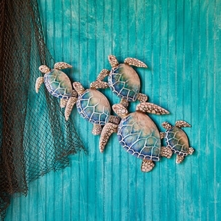 Sea Turtle Wall Decor Group Of Five