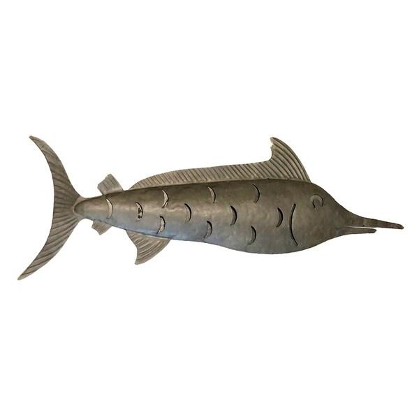 Handmade Galvanized Metal Marlin (Philippines)