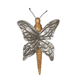 Handmade Wood and Metal Butterfly (Philippines)