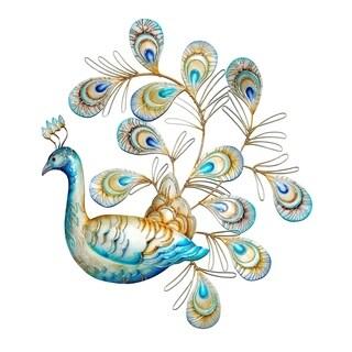 Handmade Laying Peacock (Philippines)