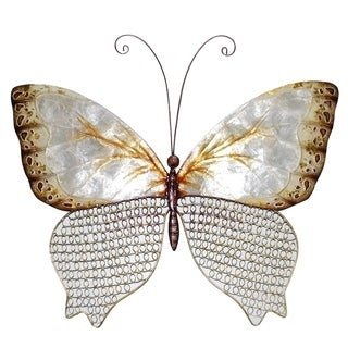 Handmade Copper Mesh Butterfly (Philippines)