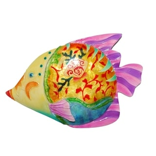 Handmade Colorful Fish with Pink Accent (Philippines)