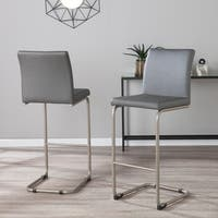 Carson Carrington Helsinki Faux Leather Barstools