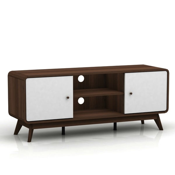 Kianna Mid Century Modern Tv Stand On Free Shipping Today 25618563