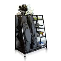 Milliard Golf Organizer - Extra Large Size - Fit 2 Golf Bags and Other Golfing Equipment  This Handy Storage Rack