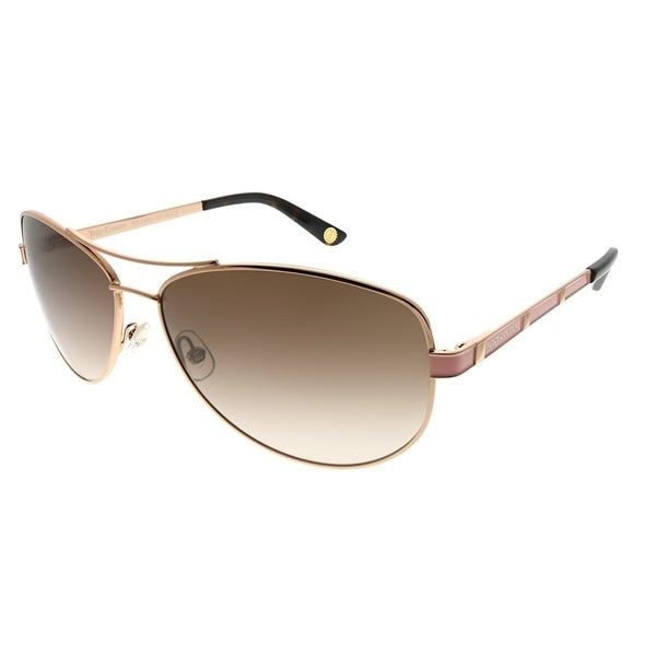 86b3dece051eb Juicy Couture Aviator JU 554 S AU2 Women Rose Gold Frame Brown Gradient  Lens Sunglasses