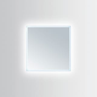 Innoci-USA Hera Square LED Wall Mount Lighted Vanity Mirror With Durable Aluminum Frame