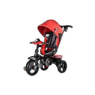 Evezo Maks 4-in-1 Stroller Trike with full canopy