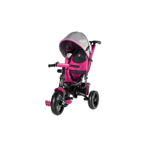 Evezo Turk 4-in-1 Stroller Trike with full canopy