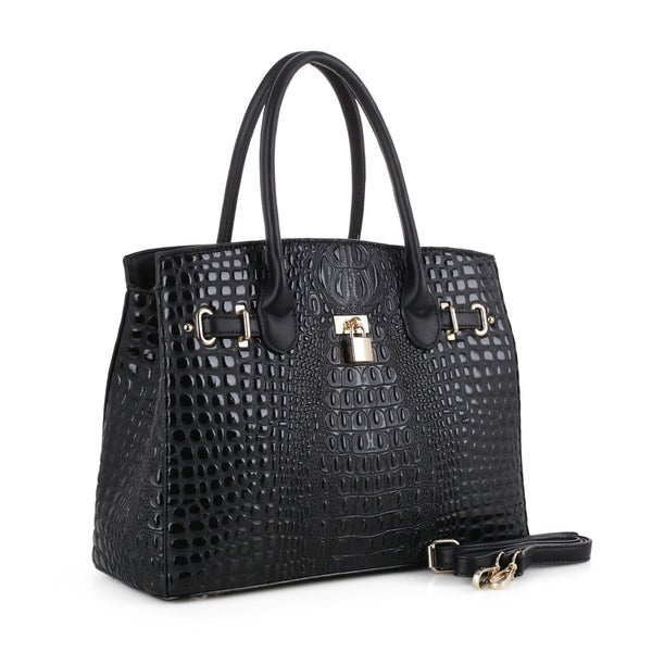 a768b8cd65f5 Shop MKF Collection Julianna Embossed Satchel by Mia K. Farrow - On ...