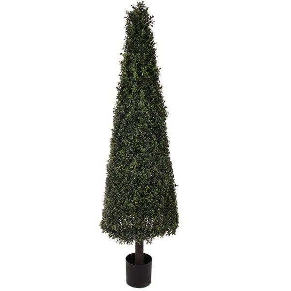 Regency Artificial Deluxe Boxwood Cone 64-inch Topiary. Opens flyout.