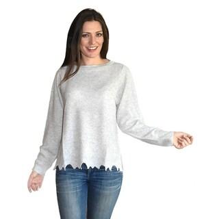 Square Armholes Cashmere Sweater